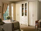Cologne Ivory Fitted Bedroom