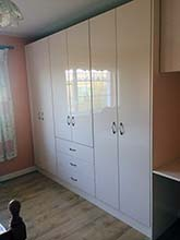 Gloss Fitted Wardrobes by Callaghans