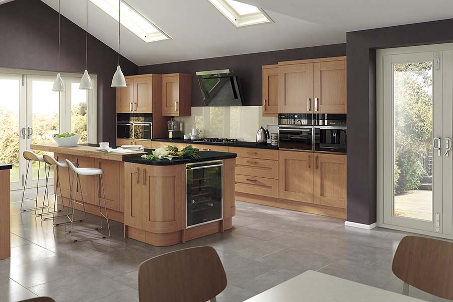 Donegal fitted kitchens derry for Pictures of fitted kitchens